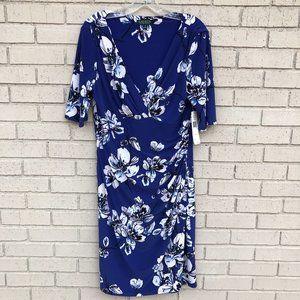 NWT Ralph Lauren Floral Print Dress - 14